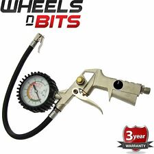 New 175PSI Tyre Inflator & Gauge Car Van Compressor Tire Heavy Duty Truck Dial