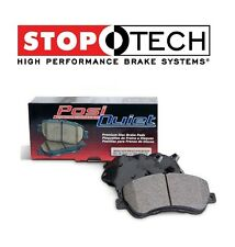 For Cadillac Chevy GMC Hummer Front StopTech Posi Quiet Ceramic Brake Pads Set