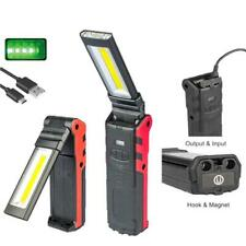 Super Bright COB LED Working Light With Magnetic Base & Hook Dimmable Flashlight