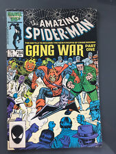 AMAZING SPIDERMAN #284 GANG WAR PART ONE Hobgoblin Punisher MARVEL