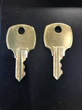 (2) Lane Cedar Chest Keys Pre 1987 Free Shipping !