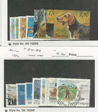 Finland, Postage Stamp, #790-794d, 812-9 Used, 1989-90 Dogs