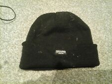 Mens Thinsulate Insulation Extreme Winter Beanie Hat Black One Size