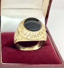 9ct Gold London University College ring size T1/2