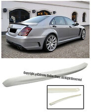 For 07-13 Mercedes Benz W221 S-Class AMG Style Rear Trunk Lip Wing Spoiler Kit