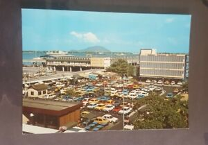 Old vintage Malaysia post card Penang Ferry