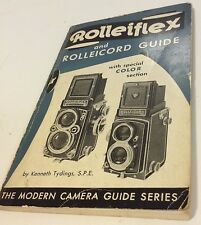 Rolleiflex And Rolleicord Guide VG 1952 Ninth Printing 1957