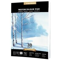 Watercolour Paper Pad A4 *30 Sheets 300gsm for Watercolour Painting PENCILMARCH