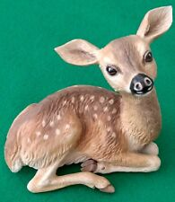 Boehm Porcelain White Tailed Fawn #20119 Made in England Rare Piece