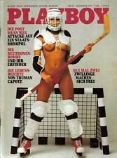 PLAYBOY 1981/12 [Dezember 81] * Leigh & Lynette Harris * Eva-Maria Kunth * Z 1-2