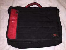 SWISS GEAR Wenger Laptop Bag Business Padded Briefcase Red Black Shoulder Carry