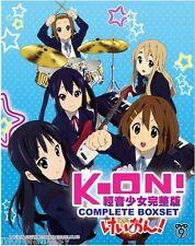 DVD K-ON !! SEASON 1 + 2 + MOVIE + 5 OVA + Free Shipping + Free Gift