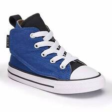 Infant Converse Sz 4 Chuck Taylor All Star Simple Blue Hi-Top Sneaker Roadtrip