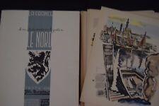 Quagebeur / Béat  En Passant par le Nord, 2 vols, 1952. Tirage de tête 87/100