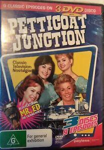 Petticoat Junction & Mr Ed. (9 episodes on 3 DVDs) new & sealed, Aussie seller