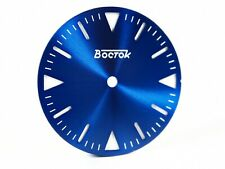 Sandwich Blue Superlumia Dial for Vostok Amphibian Komandirskie for Bezel