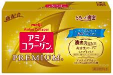 NEW Meiji Amino Collagen Drink Premium 50mL 10bottle Sets Japan import