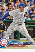 2018 TOPPS  BASEBALL CARD # 50  - ANTHONY RIZZO - CHICAGO CUBS