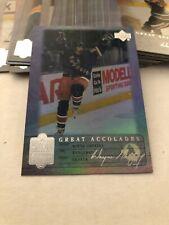 1999-00 Upper Deck Living Legend Great Accolades Wayne Gretzky Complete Your Set