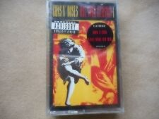 "GUNS N ROSES ""USE YOUR ILLUSION # 1""  CASSETTE ORIGINAL FACTORY SEALED 1991"