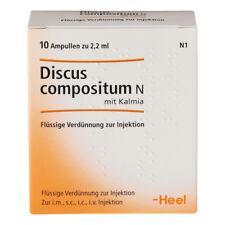 HEEL Discus Compositum 10 Amps (Kalmia) Homeopathic Remedies