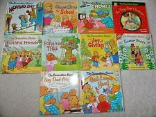 Berenstain Bears Lot of 10 PB Books Living Lights (7) Other (3) AGES 3-7