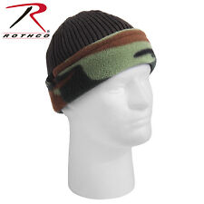 Rothco 8459 O.D./ Woodland Camo Reversible Watch Cap