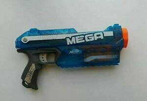 Nerf Mega Magnus Plus 4 Mega Darts No1 - Ice Blue #SUPER RARE