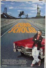 Road Scholar Original Single Sided Movie Poster Andrei Codrescu Allen Ginsberg