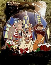 NEW DISNEY WDI CAST MEMBER 2016 CHRISTMAS OLIVER AND COMPANY HOLIDAY LE 250 PIN