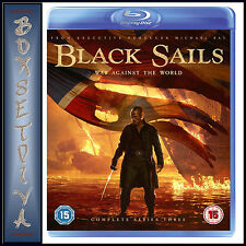 Black Sails Season 3 Blu-ray UK BLURAY