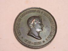 MEDAILLE MEDAL SOUVENIR DU CENTENAIRE DE L'EMPEREUR NAPOLEON I 1769-1869