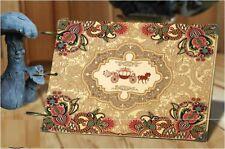 DIY 30Pages 26.8cm x 16.7cm Kraft Carriage Photo Album Wedding Scrapbook