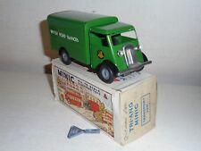 TRI-ANG MINIC Tinplate-124M British Road Services Van(green)c/w-superb/bxd-c1956