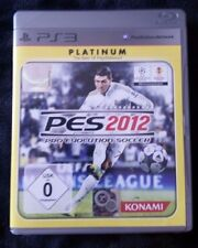 Pro Evolution Soccer 2012 -- Platinum (Sony PlayStation 3, 2012)