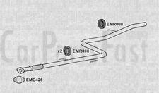 Exhaust Middle Pipe Fiat Doblo 1.4 Petrol Van 01/2006 to 10/2010