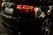 Coppia fari fanali posteriori LTI LED TUNING AUDI A3 8PA Sportback 2004>08 FUME'