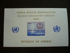 Stamps - Liberia - Scott# C140 - Souvenir Sheet - Imperf