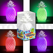 LED COLOUR CHANGING PINEAPPLE MOOD LIGHT TABLE LAMP FUN COCKTAIL PARTY LIGHTING