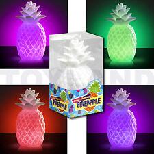 LED Lámpara de luz de estado de ánimo Piña Cambio De Color Navidad Navidad Stocking Relleno
