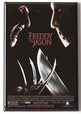 "Freddy vs Jason Fridge Magnet movie poster ""style A"""