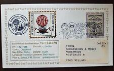 1985 Christkindl Balonpost