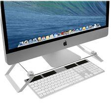 Imac Riser Desktop Computer Stand Monitor Tv Shelf Laptop Display Desk Non Slip