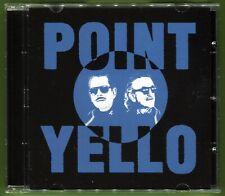 Yello POINT 15-track CD w/3 Bonus Tracks 12-pg booklet Dieter Meier/Boris Blank