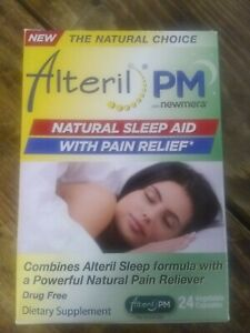 5 packs of Alteril PM Natural Sleep Aid, 24 Count each Exp 12/2021+ New