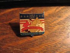 Barcelona Spain Olympic Pin - Vintage 1992 USA Equestrian Olympics Lapel Badge