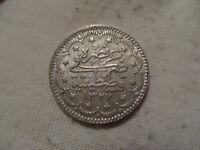 Ottoman empire, Turkey silver 5 kurush AH 1327/1 (1909)
