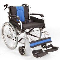 Lightweight folding extra wide self propelled wheelchair hand brakes ECSP01-20