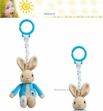 Peter Rabbit Jiggle Attachable Toy-Attaches to cot or pram- PO1451