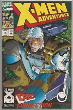 X-Men Adventures #8 : Vintage Marvel comic book from June 1993
